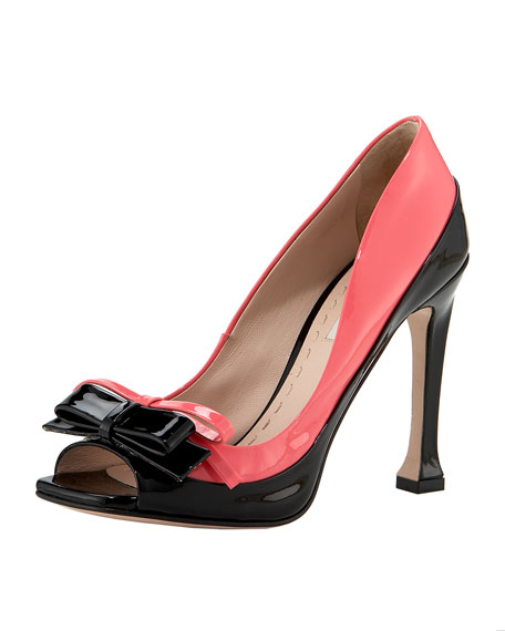 Bi-Color Patent Pump