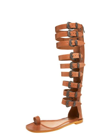 Knee-High Gladiator Sandal