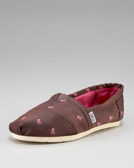 Latimer Skull Detail Slip-On