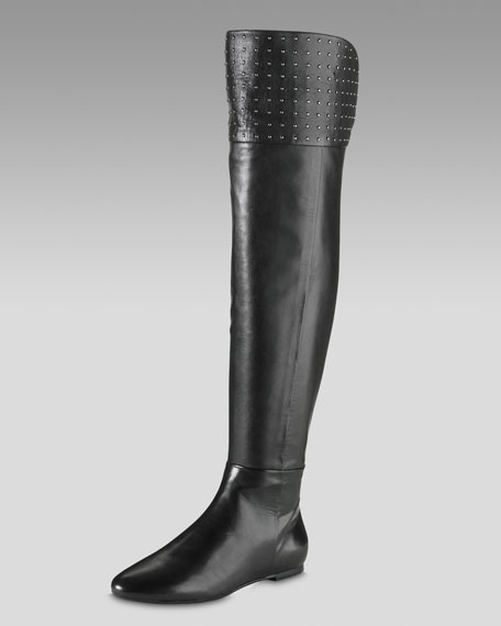 Air Zelo Boot, Black Leather