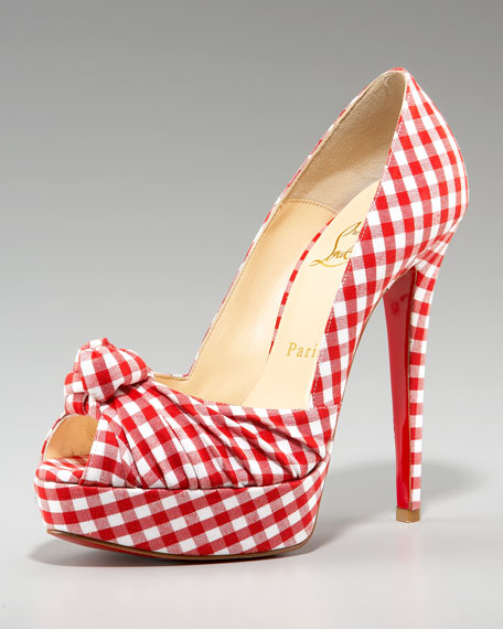 Gressimo Gingham Knot Pump