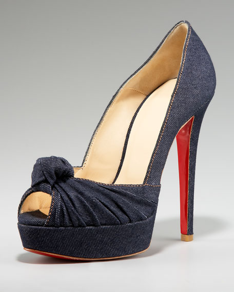 Greissimo Denim Knot Pump