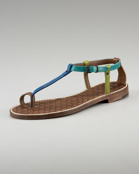 Toe-Strap Thong Sandal