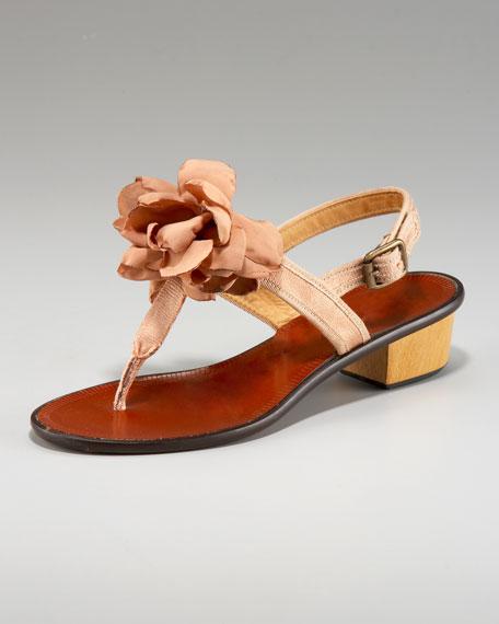 Flower Halter Sandal