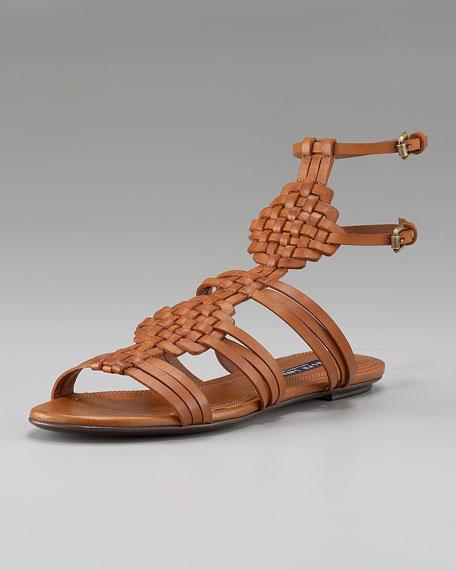 Marsha Woven Flat Sandal