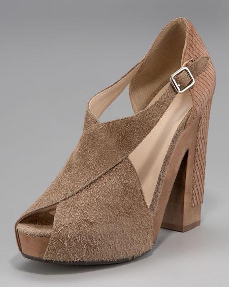 """""""X""""-Cellent Platform Sandal"""