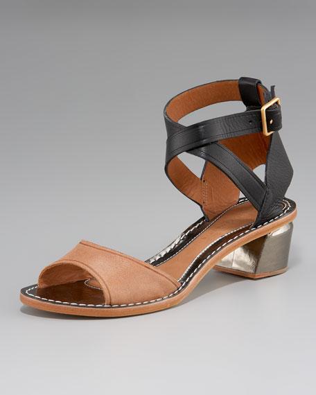 Maija Metal-Heel Sandal