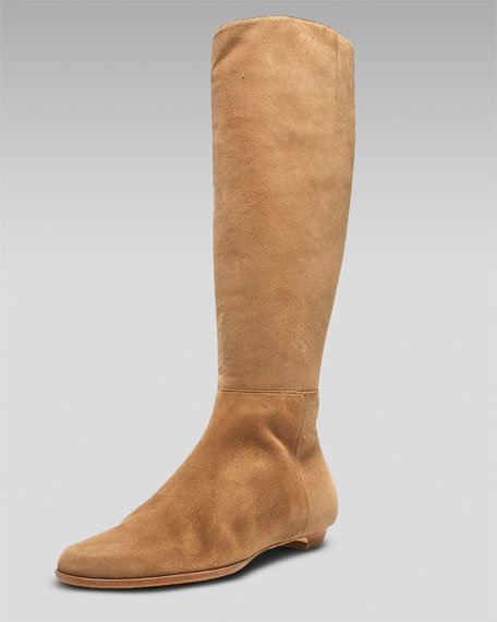 Jimmy Choo Fitted Suede Boot