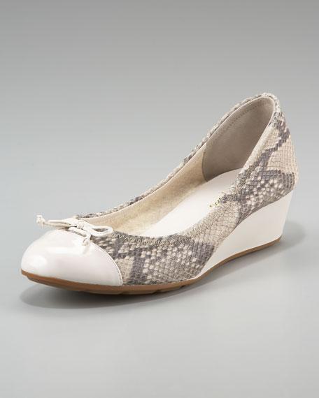 Air Tali Wedge Bow Ballerina