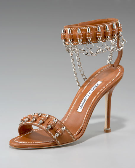 Military Ankle-Cuff Sandal