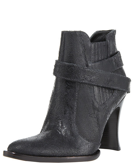 Distressed Ankle Boot