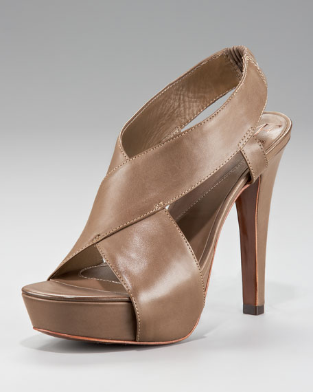 Zia Crisscross Sandal, Taupe