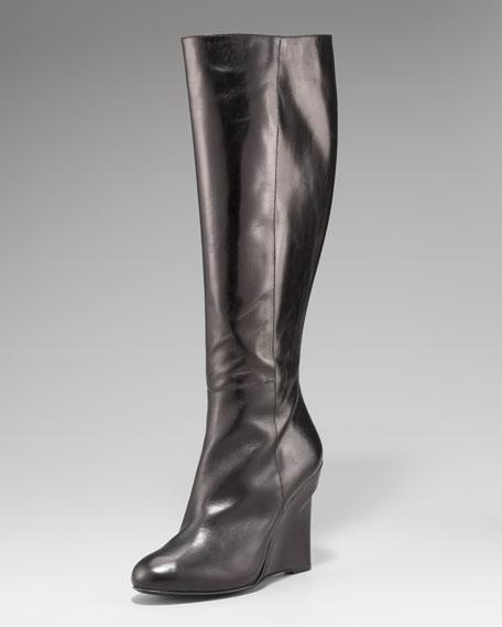 Vera Wang Lavender Eldora Wedge Boot