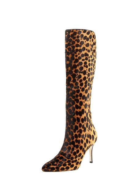 Cheetah-Print Boot