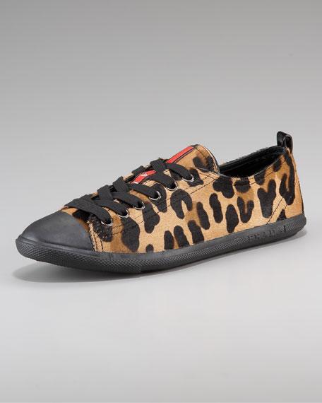 Calf Hair Tennis Shoe