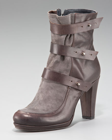 Strappy Ankle Boot