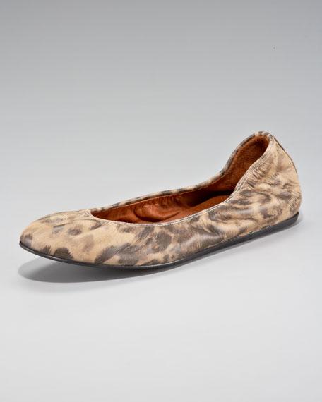 Leopard-Print Ballerina