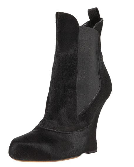 Haircalf Ankle Boot