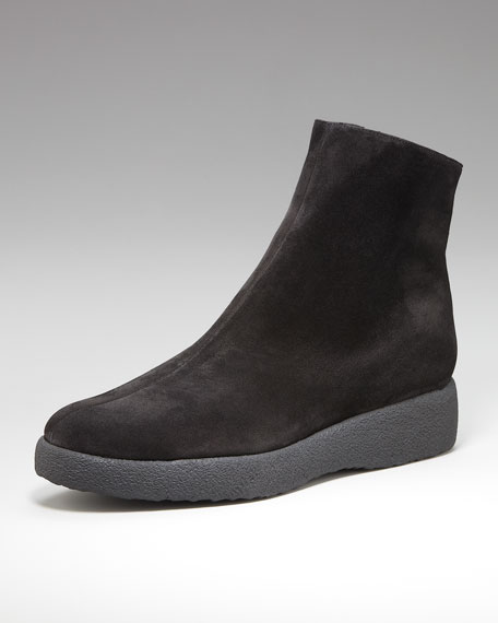 Crepe-Sole Ankle Boot