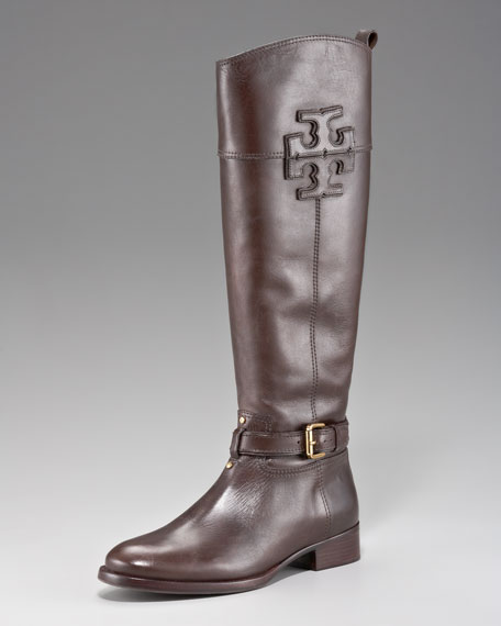 Blaire Leather Riding Boot