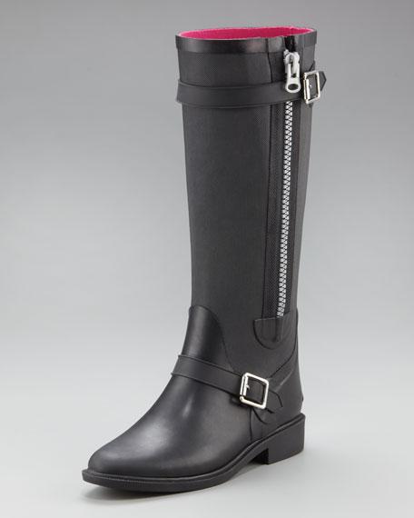 Emily Zip Rain Boot
