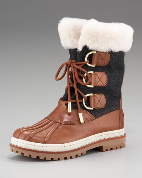 Shearling Duck Boot
