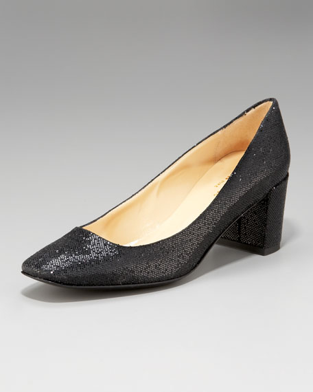 desiree starlight low-heel pump