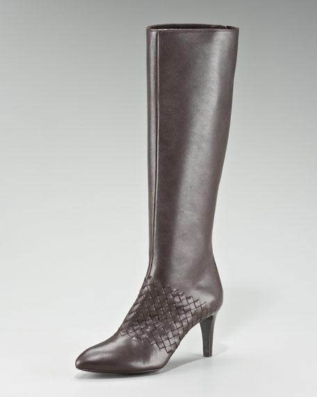 Woven-Panel Boot