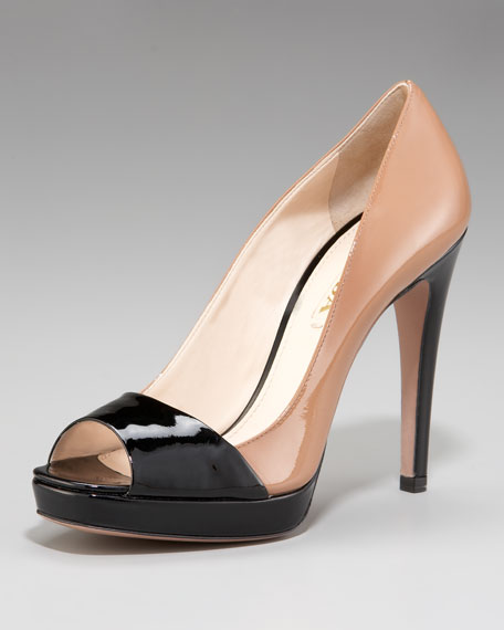 Bi-Color Platform Pump