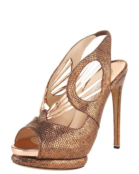 Lizard-Specchio Sandal