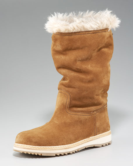 Fur-Lined Boot