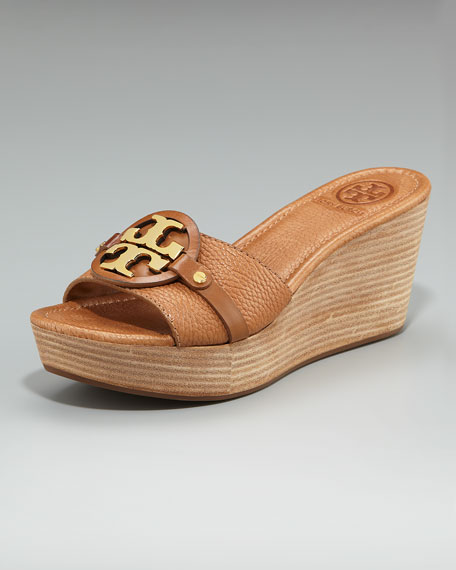 Patti Logo Wedge Slide