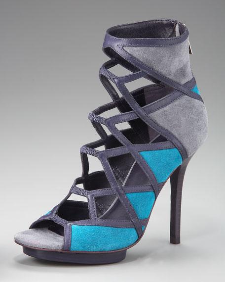 Sheila Colorblock Sandal