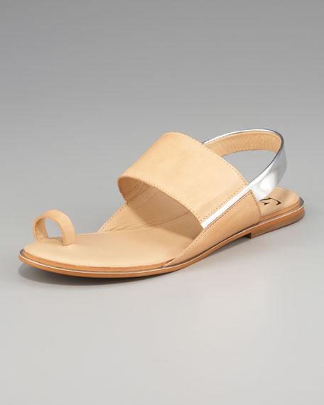 Klee Slingback Toe-Ring Sandal