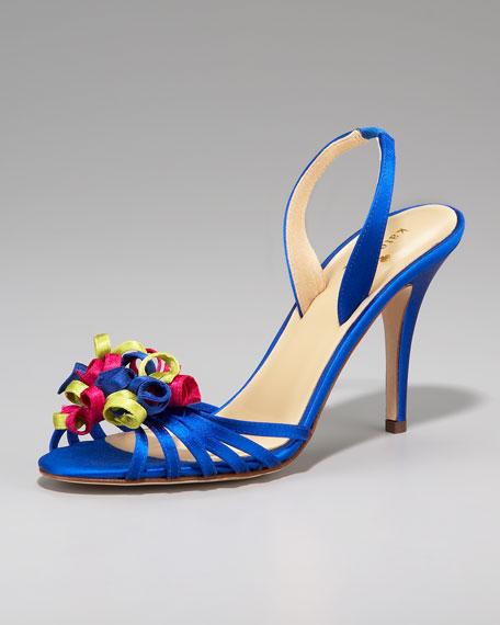 colby halter sandal, royal blue
