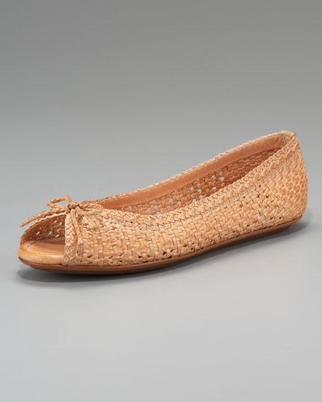 Malorie Woven Ballerina Flat
