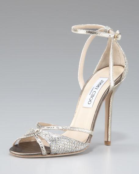 Senora Ankle-Strap d'Orsay Sandal