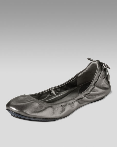 Air Bacara Leather Ballerina