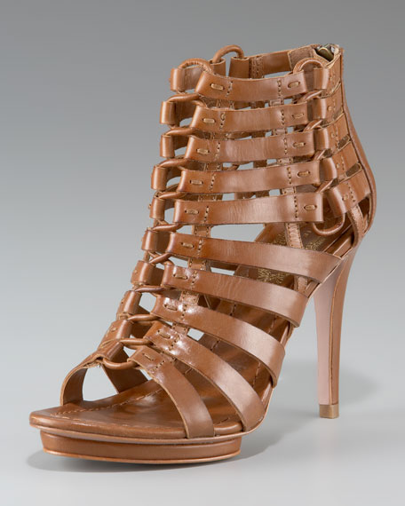 Elie Tahari Nyla Lace-Up Platform Sandal