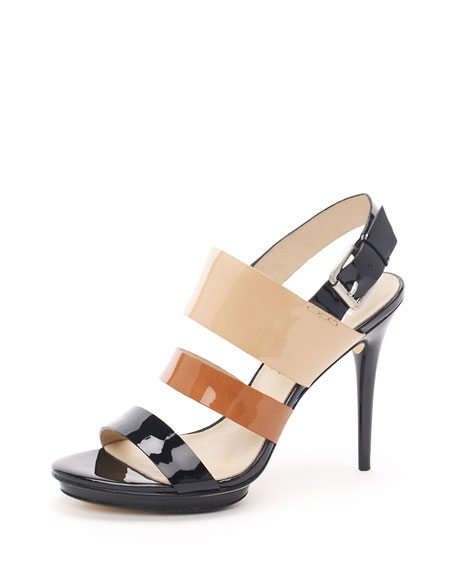 Lizzie Patent Sandal
