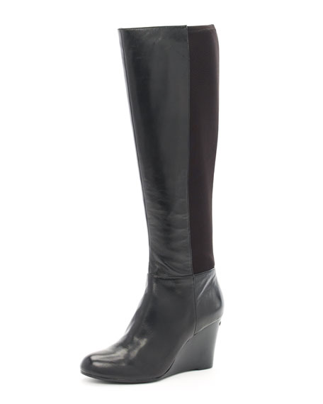 Bromley Wedge Boot, Black