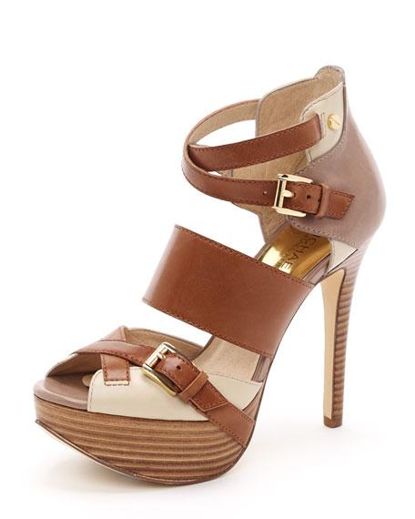 Fallyn Peep-Toe Sandal