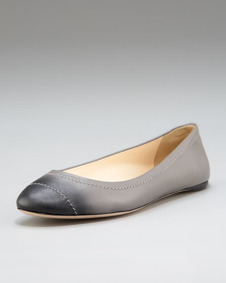 Ombre Ballerina Flat