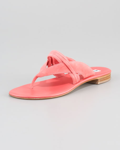 Mesilla Strappy Flat Thong Sandal