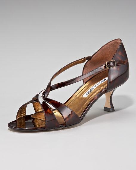 Eker Crisscross Low-Heel d'Orsay
