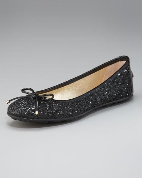 Glittered Ballerina Flat