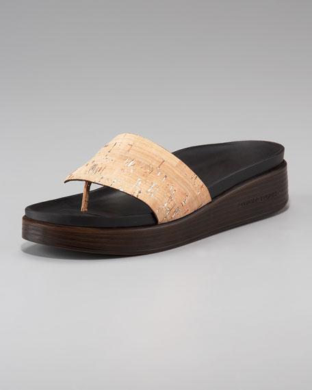 Cork-Strap Sandal