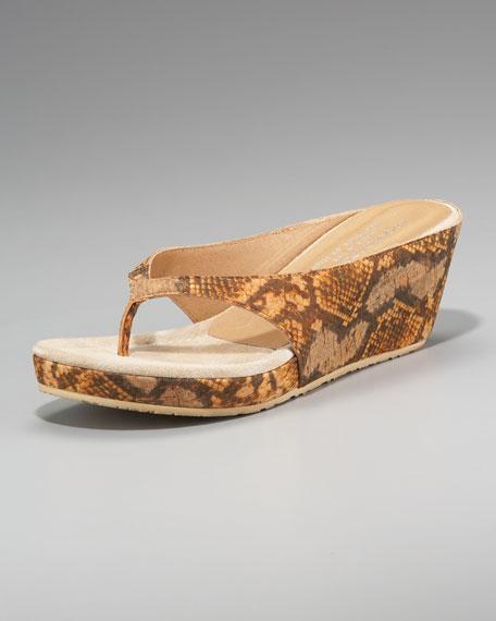 Python-Print Thong Sandal