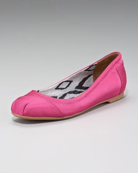 Rowen Grosgrain Ballerina Flat