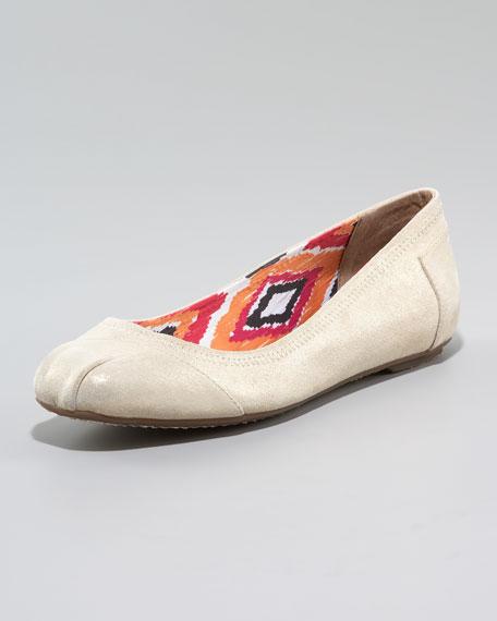 Baylor Shimmer Ballerina Flat